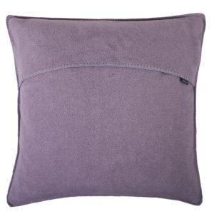zoeppritz weicher soft fleece kissenbezug 50x50 misty rose lila