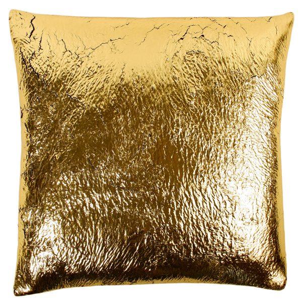 crack zoeppritz  kissenbezug 70x70 gold