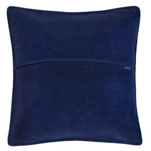 zoeppritz weicher soft fleece kissenbezug 50x50 dunkles marine blau