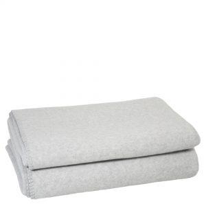 soft wool zoeppritz viscose schurwoll decke 210x240 wolken grau