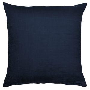 stay zoeppritz leinen kissenbezug dunkles marine blau