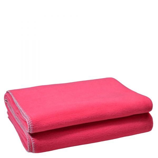 zoeppritz weiche soft fleece decke 160x200 wild blossom pink
