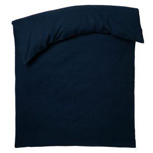 stay zoeppritz leinen bettbezug dunkles marine blau