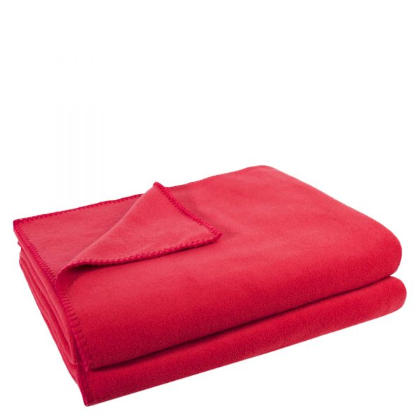 4051244516488-00-zoeppritz-weiche-soft-fleece-decke-160x200-erdbeer-rot