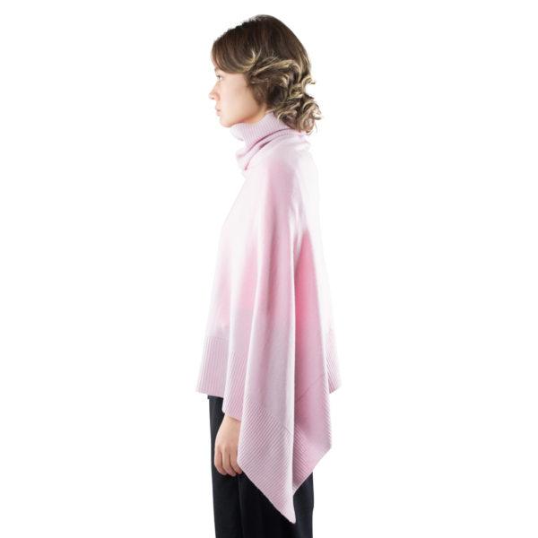 turtleneck cape