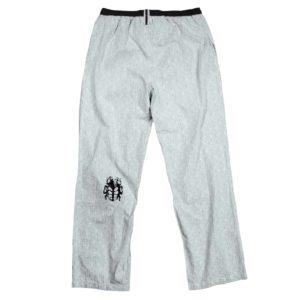zoeppritz Sleepy Jag Schlafanzug Hose, Farbe weiss schwarz, Material Baumwolle, in Groesse XL