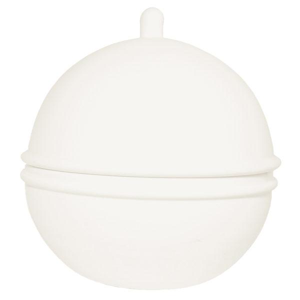 zoeppritz Titty Porzellan Schale, Farbe weiss gross