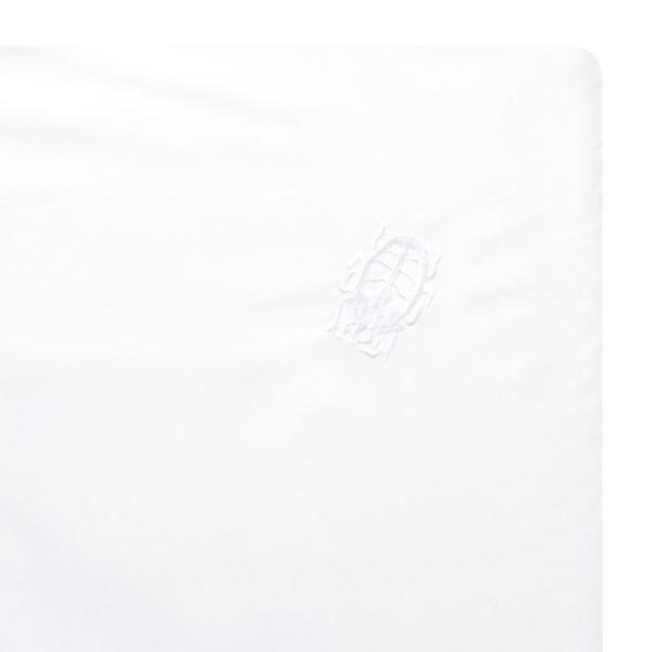 zoeppritz Absolute Spannbetttuch, Farbe weiss, Material Baumwolle Perkal in Groesse 90x200