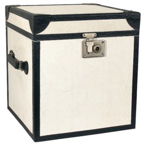 zoeppritz Treasure Booty Box, Farbe weiss, Material Canvas Baumwolle klein