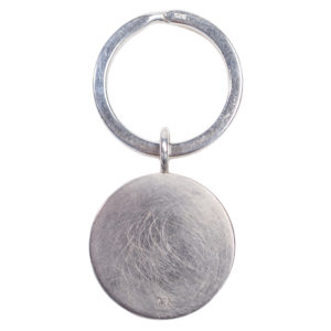 zoeppritz Jag coin key ring Silber Schluesselanhaenger