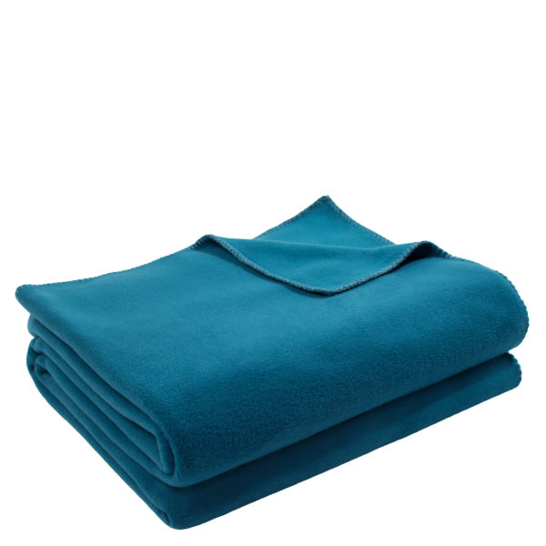 4051244522656-00-zoeppritz-weiche-soft-fleece-decke-160x200-petrol-blau