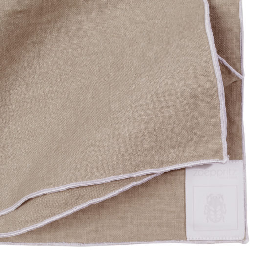 zoeppritz Stay Serviette, Farbe natur, Material Leinen in Groesse 40x40