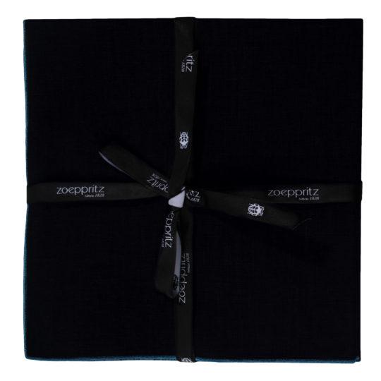 zoeppritz Stay Serviette, Farbe dunkelblau, Material Leinen in Groesse 40x40