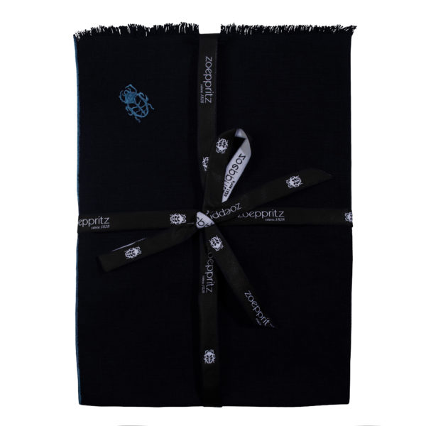zoeppritz Stay Tischset Platzdecke, Farbe dunkelblau, Material Leinen in Groesse 35x50