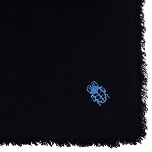 zoeppritz Stay Tischdecke, Farbe dunkelblau, Material Leinen in Groesse 130x170