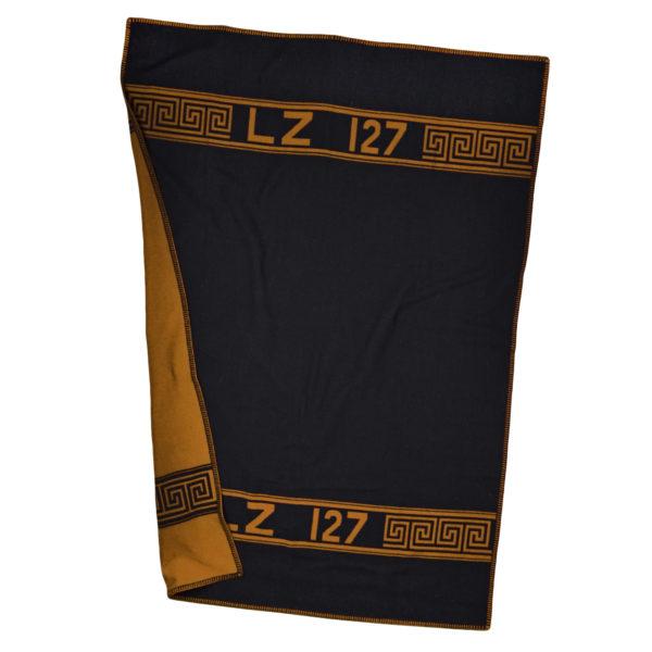 zoeppritz Hero Decke, Farbe orange, Material Schurwolle Merino Cashmere in Groesse 140x190