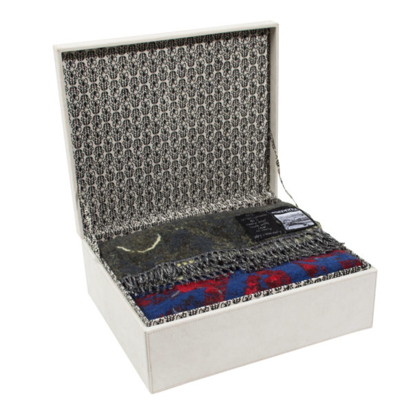 zoeppritz Extra Krass Carpet Plaid, gemustert, Material Cashmere Wolle in Groesse 145x210