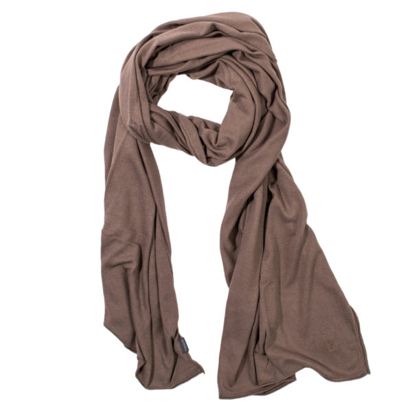 zoeppritz Forever Schal, Farbe braun, Material Seide Cashmere in Groesse 70x200
