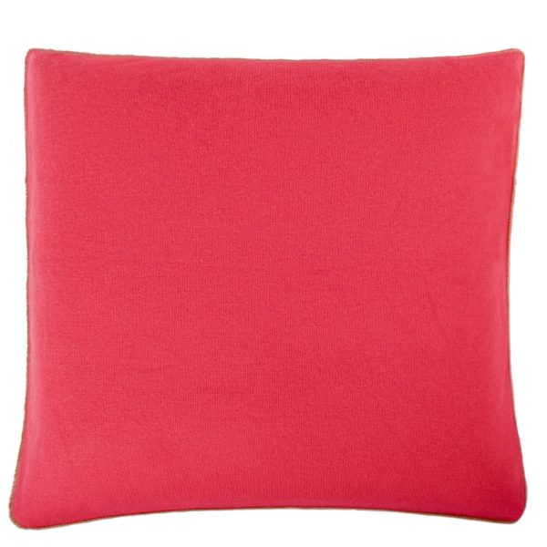 zoeppritz Edition 15/02 Kissenhuelle, Farbe rot, Material Cashmere in Groesse 50x50