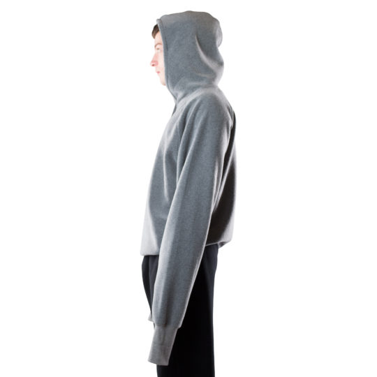 zoeppritz Soft Hoodie, Farbe grau, Material Fleece in Groesse S