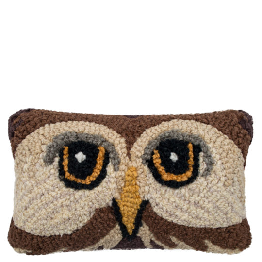 Chandler 4 Corner Wiseowl Kissenbezug, handgeknuepft, Muster, Material Wolle und Baumwolle, in Groesse 20x30