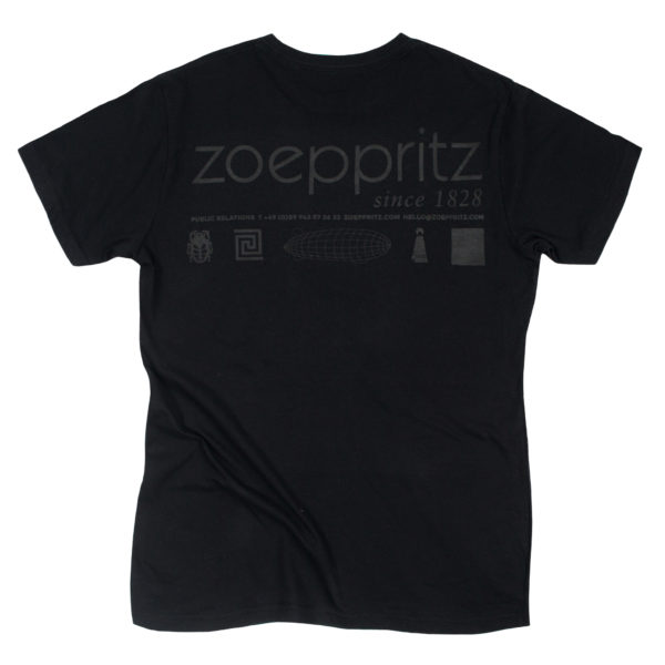 zoeppritz homage to h T-Shirt, Farbe schwarz, Material Baumwolle in Groesse S
