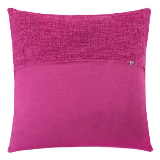 zoeppritz Plus Kissenhuelle, Farbe rot, Material Baumwolle Leinen in Groesse 50x50