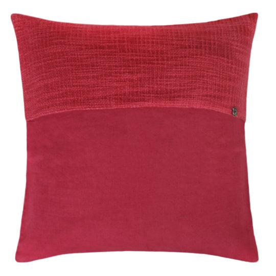 zoeppritz Plus Kissenhuelle, Farbe pink, Material Baumwolle Leinen in Groesse 50x50