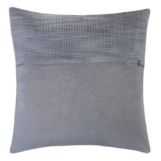 zoeppritz Plus Kissenhuelle, Farbe hellblau, Material Baumwolle Leinen in Groesse 50x50