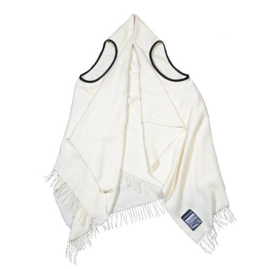 zoeppritz The Must Vest Weste cremeweiss, Material Schurwolle onesize
