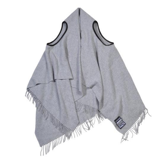 zoeppritz The Must Vest Weste hellgrau, Material Schurwolle onesize