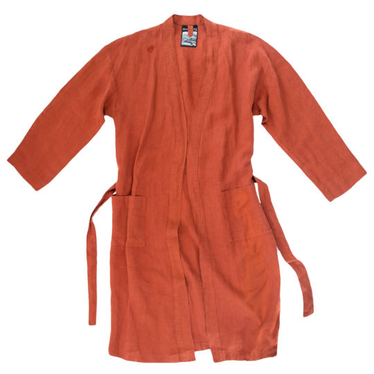 Zoeppritz Mantel aus Leinen Stay, orange, Material Leinen in Groesse L-XL