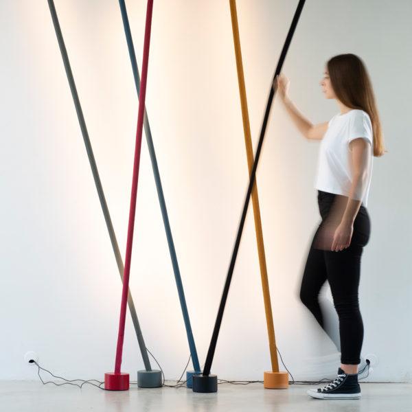 zoeppritz MARTINELLI LUCE Elastica LED Lightstrip Lampe schwarz