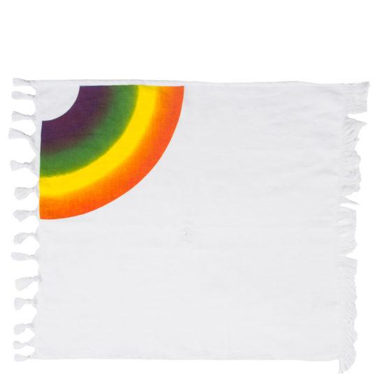 zoeppritz 331 Rainbow Servietten aus Baumwolle, weiss ,50x50