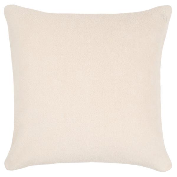 zoeppritz Soft-Greeny weicher Kissenbezug Farbe beige, Material GOTS Bio-Baumwolle in Groesse 50x50