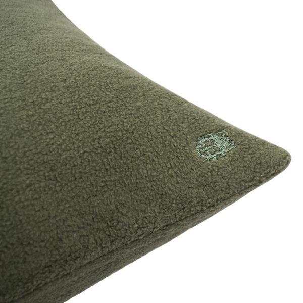 zoeppritz Soft-Greeny weicher Kissenbezug Farbe gruen, Material GOTS Bio-Baumwolle in Groesse 30x50