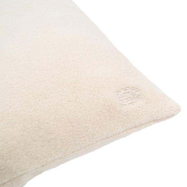 zoeppritz Soft-Greeny weicher Kissenbezug Farbe beige, Material GOTS Bio-Baumwolle in Groesse 30x50