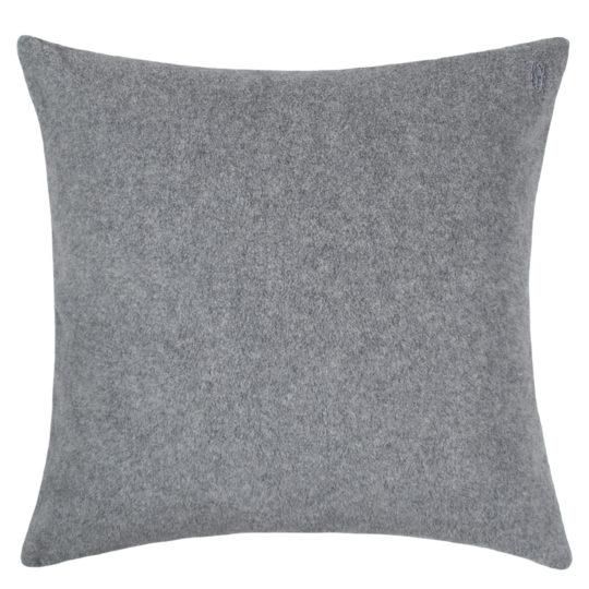 zoeppritz Soft-Greeny weicher Kissenbezug Farbe grau, Material GOTS Bio-Baumwolle in Groesse 50x50