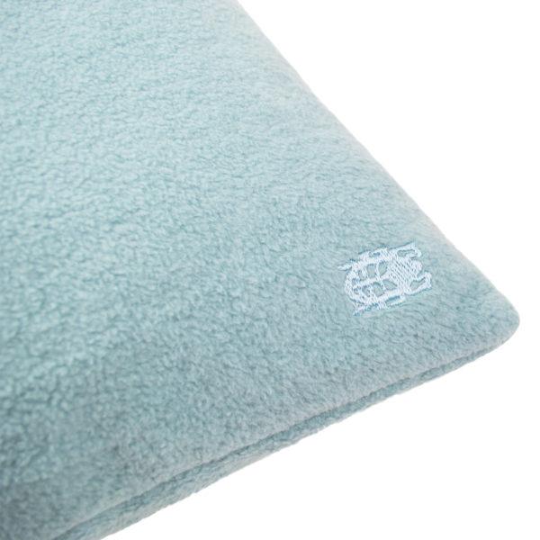 zoeppritz Soft-Greeny weicher Kissenbezug Farbe blau, Material GOTS Bio-Baumwolle in Groesse 30x50