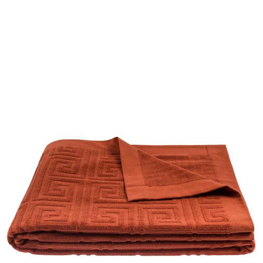 Strandtuch 150x200 orange aus Baumwolle, zoeppritz Water Leg