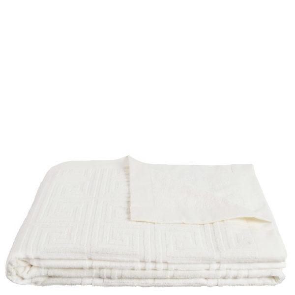 Strandtuch 150x200 weiss aus Baumwolle, zoeppritz Water Leg