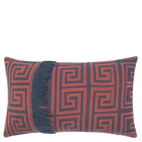 Kissenbezug 30x50 aus Baumwolle in rotorange, zoeppritz Sunny Leg