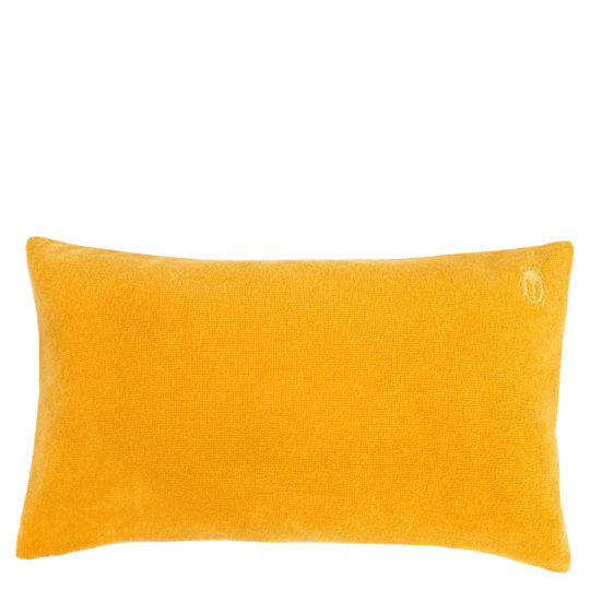 Kissenbezug 30x50 gelb aus Baumwolle, zoeppritz Spot