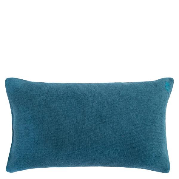 Kissenbezug 30x50 tuerkis aus Baumwolle, zoeppritz Spot