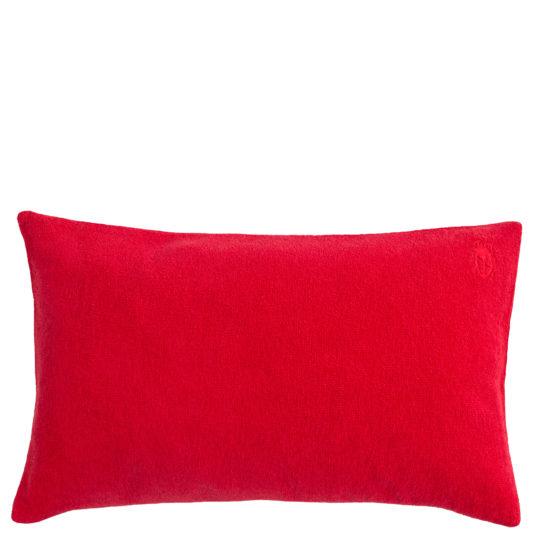 Kissenbezug 30x50 rot aus Baumwolle, zoeppritz Spot