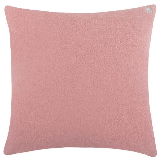 Kissenbezug rosa aus Bio-Baumwolle, 50x50cm, zoeppritz Soft-Greeny