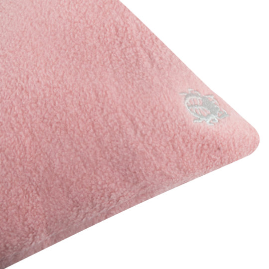 Kissenbezug rosa aus Bio-Baumwolle, 30x50cm, zoeppritz Soft-Greeny