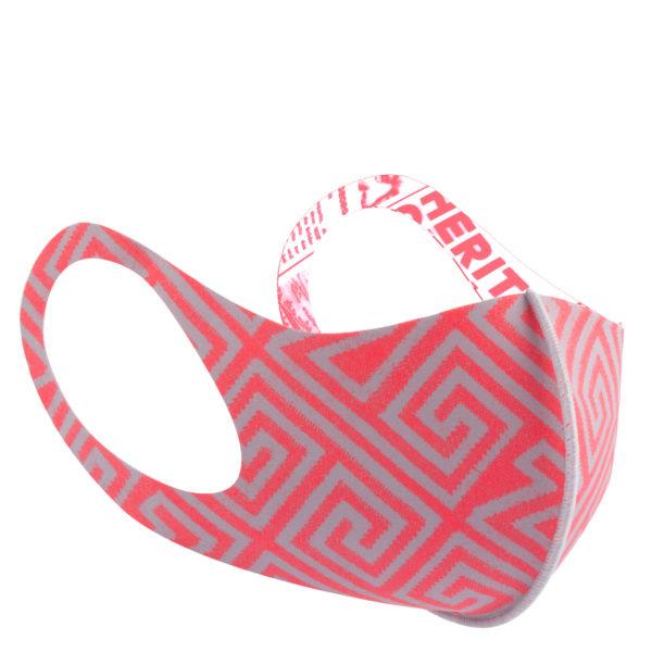 Stoffmaske wiederverwendbar fuer Damen und Herren in grau-flamingo, zoeppritz Responsibility