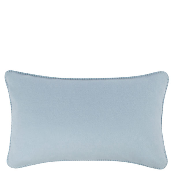 Cushion cover 30x50cm in light blue, zoeppritz Soft-Fleece