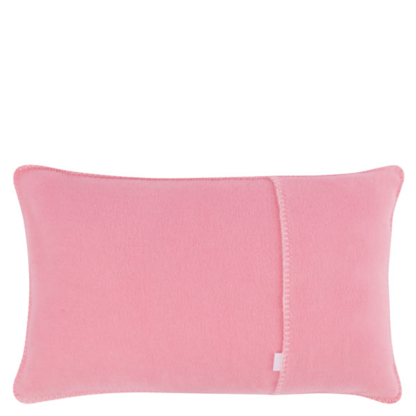 Kissenbezug 30x50cm in rosa, flauschig aus Fleece, zoeppritz Soft-Fleece